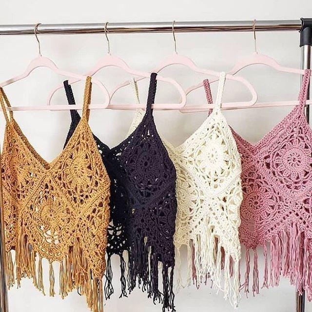 1ed0c6cfc5 Tops   Blusas Tejidas A Mano Natyva Crochet - Bs. 39.900