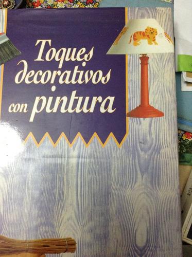 toques decorativos con pintura