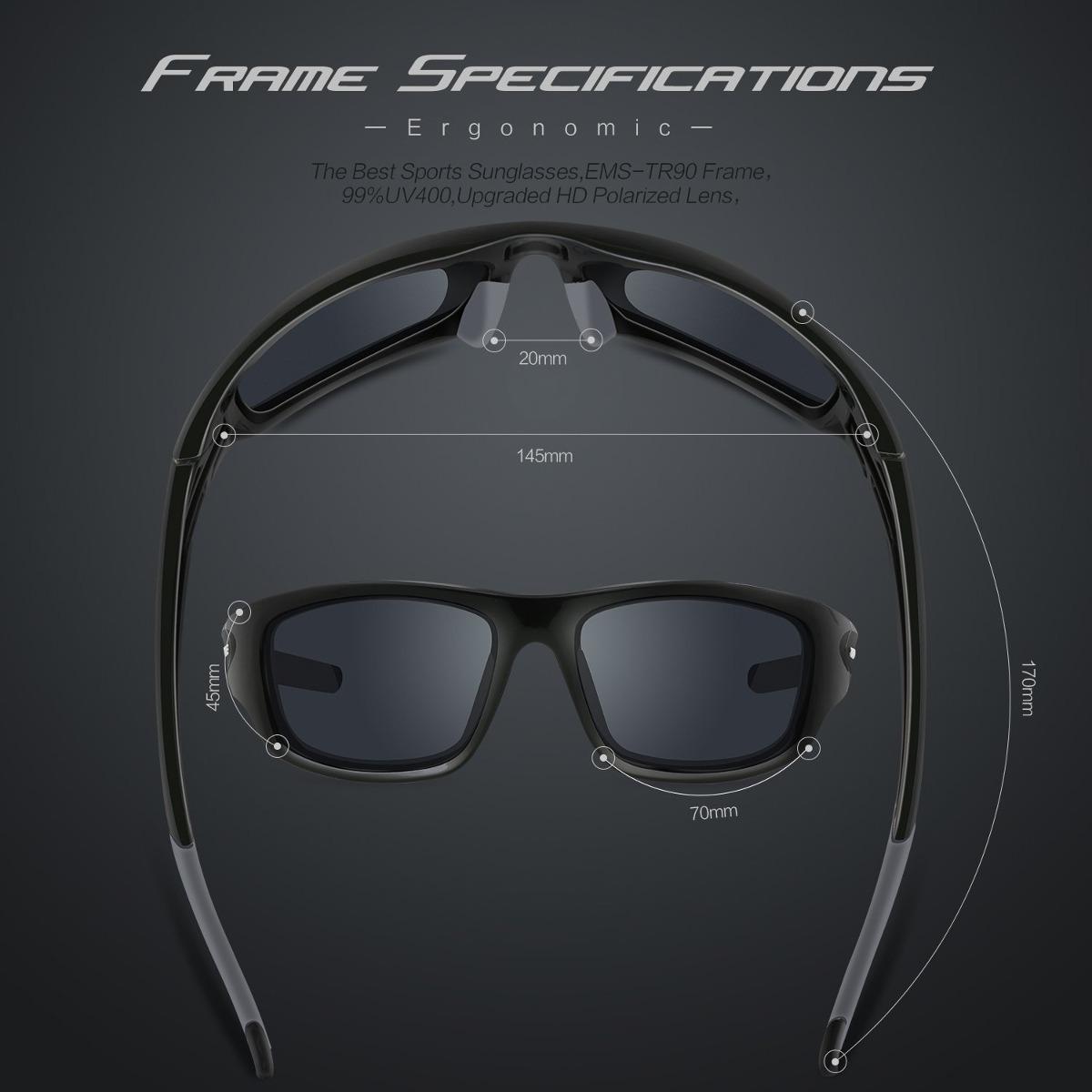 7a46e18879 torege polarized sports sunglasses para hombre mujeres ci. Cargando zoom.