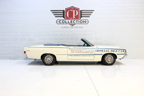 torino pace car tag ford mustang camaro dodge charger impala