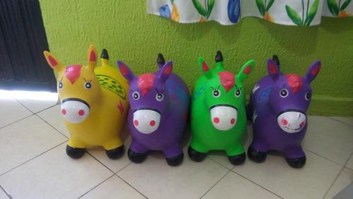 torito montable brinca brinca caballito reno varios  colores