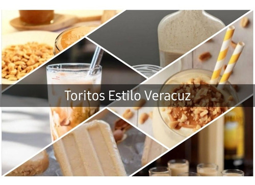 toritos veracruzanos 100% artesanal 4 litros varios sabores