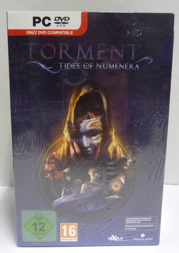 torment tides of numenera legacy edition - pc dvd - frete 8$