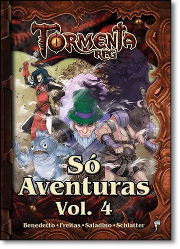 tormenta: só aventuras - vol. 4