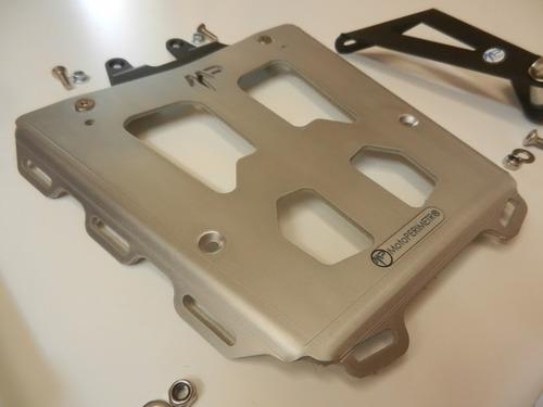 tornado xr250 portaequipaje  aluminio/acero motoperimetro®