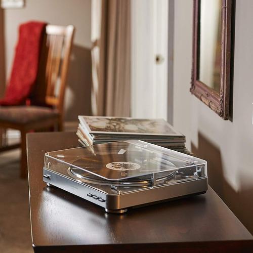 tornamesa audio-technica atlp60 tocadiscos plata