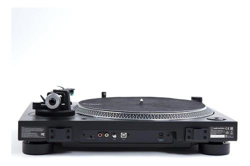 tornamesa audiotechnica at-lp120xusb negra