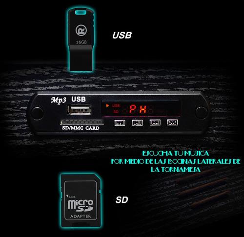 tornamesa convertidora disco vinil a mp3/usb/sd recargable