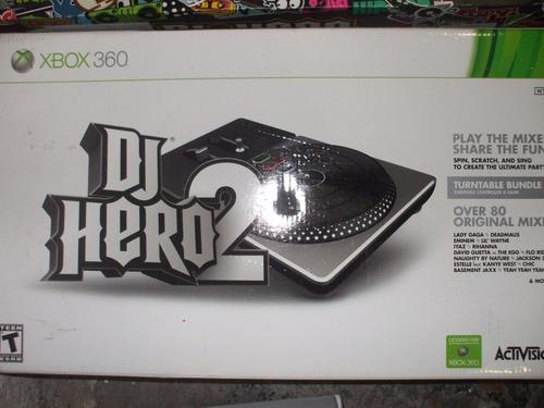 tornamesa de dj hero 2 con juego