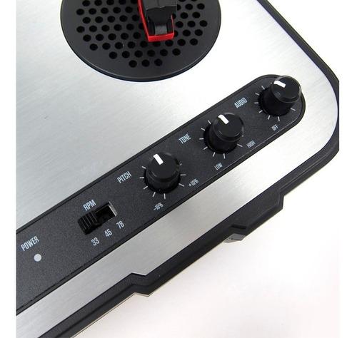 tornamesa numark pt01 tocadiscos vinilos dj c/ parlantes usb
