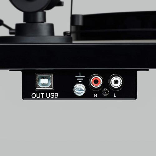 tornamesa pro-ject primary phono usb audiophile matte negra