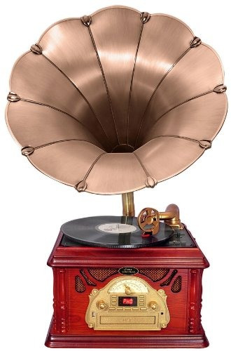 tornamesa pyle-home horn clásica de lujo.