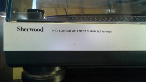 tornamesa sherwood pm-9805
