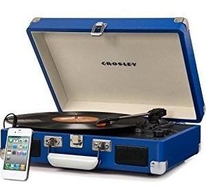 tornamesa tocadiscos portatil crosley cr8005a cruiser vinilo