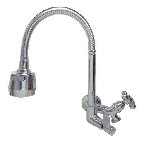 torneira bica flexível, com saída p/ máquina ou purificador