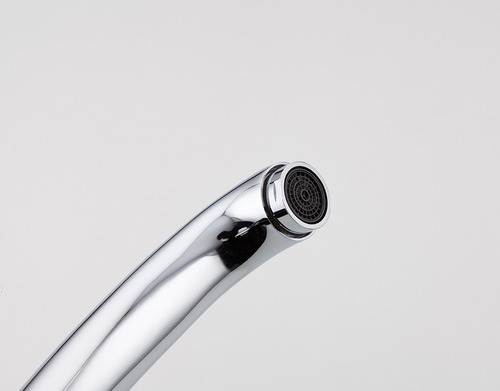 torneira bica móvel misturador monocomando cozinha metal