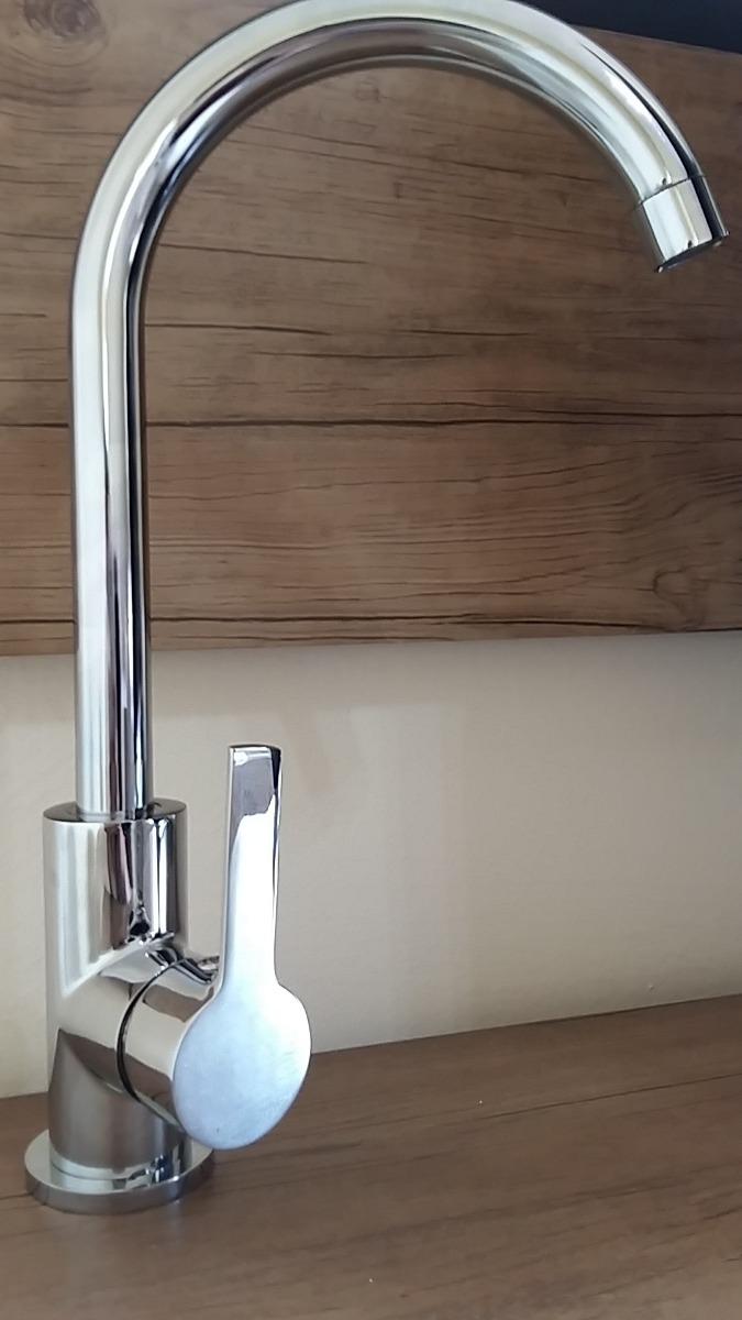 Torneira Cozinha Gourmet Misturador Monocomando Mesa Metal R 130
