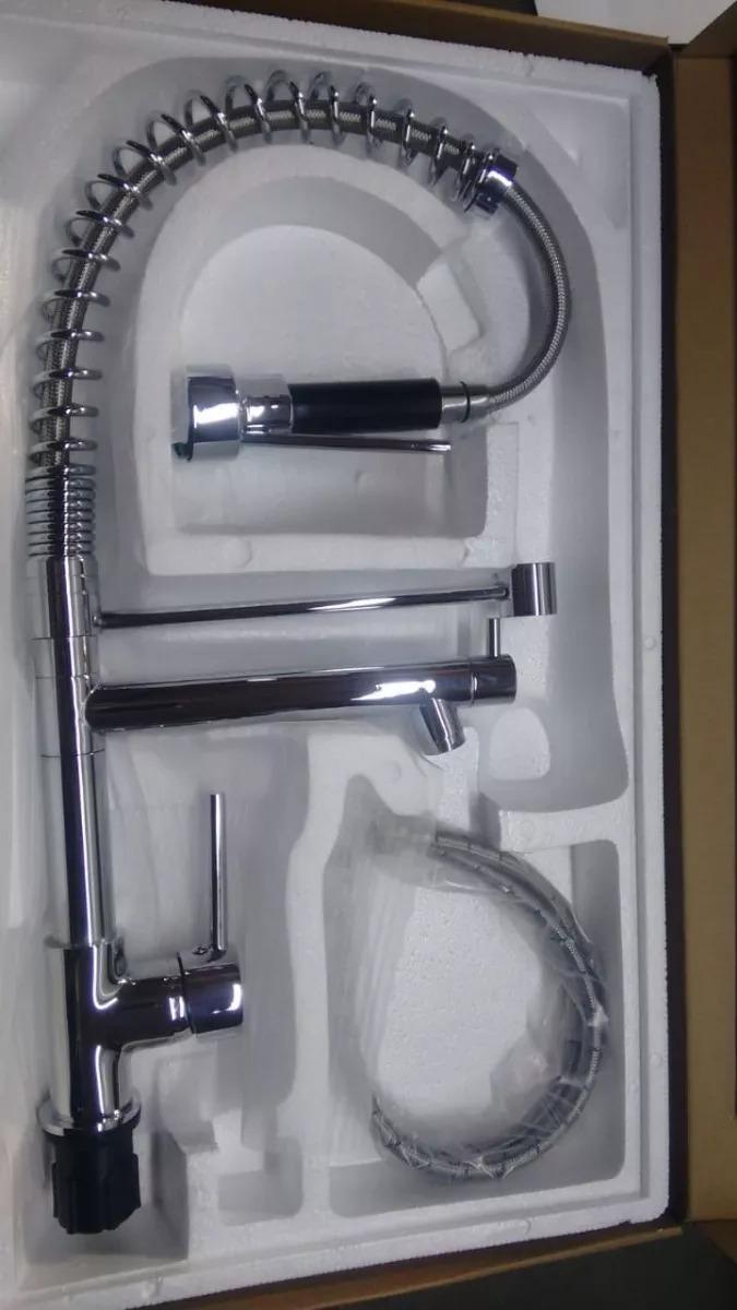 Torneira Cozinha Gourmet Monocomando C Spray 50cm Promo Ao R