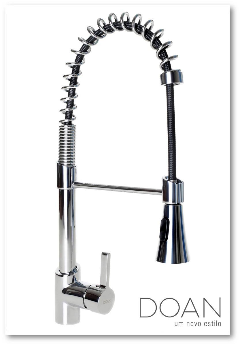 Torneira Cozinha Gourmet Spray Mesa Misturador Monocomando R 552