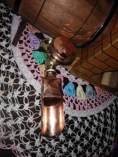 torneira de cobre parede bica o valor  cada peça r$225,00