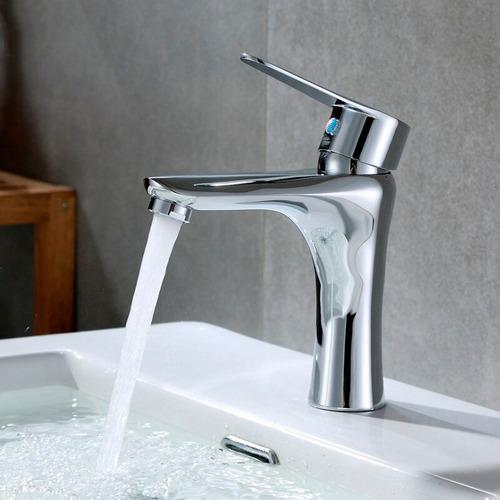 torneira metal misturador monocomando cromo lavabo banheiro