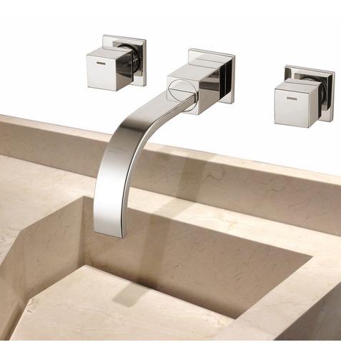 torneira misturador lavatório banheiro com duplo comando