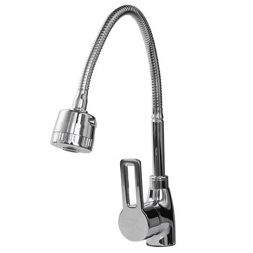 torneira monocomando gourmet c/ spray móvel smart 3370