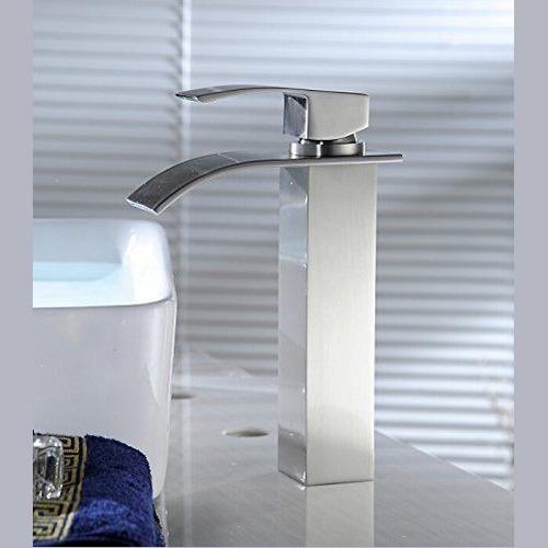 torneira monocomando misturador bica alta para lavatório