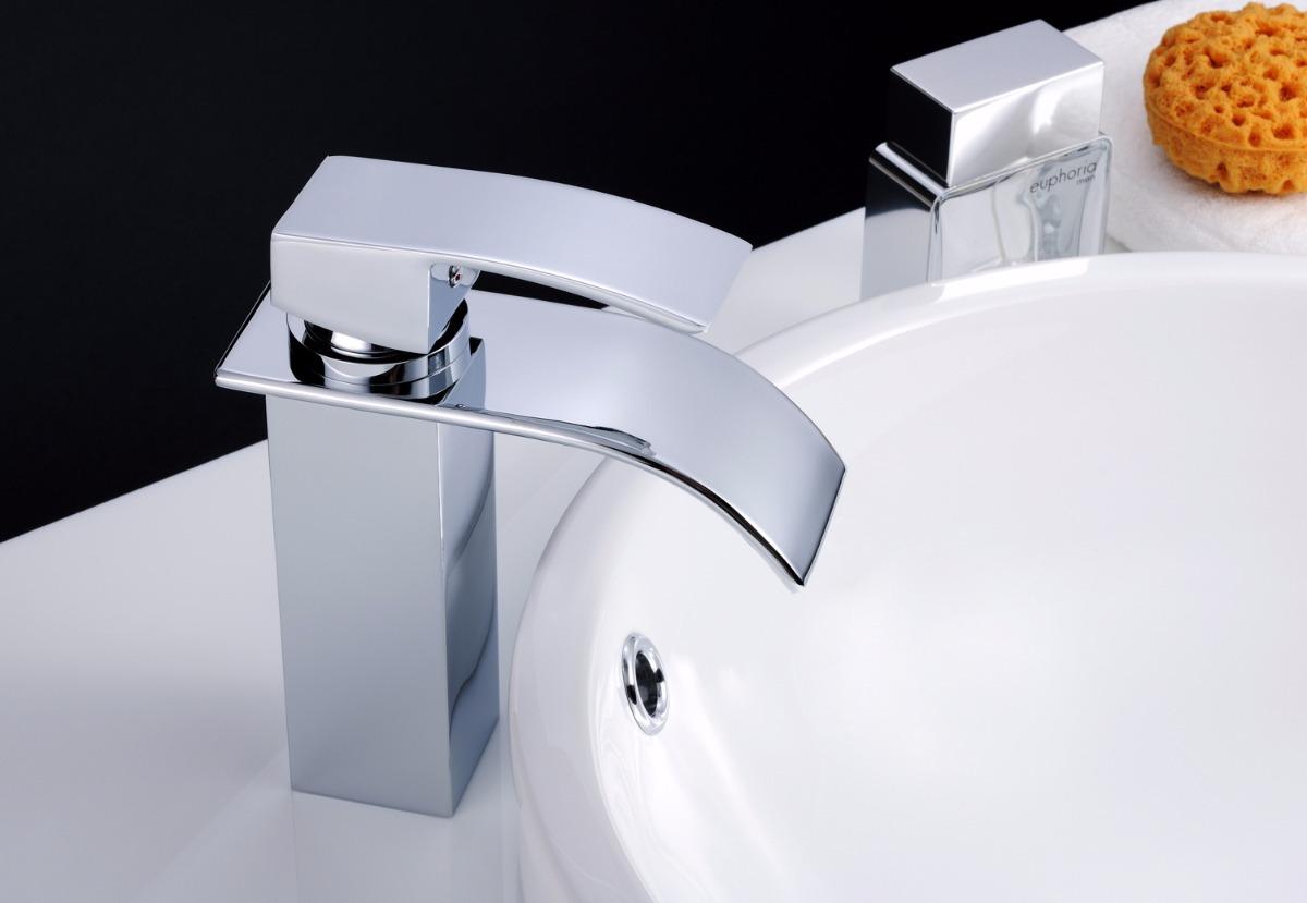 Torneira P Banheiro Em Metal Misturador Monocomando 1225 R 269