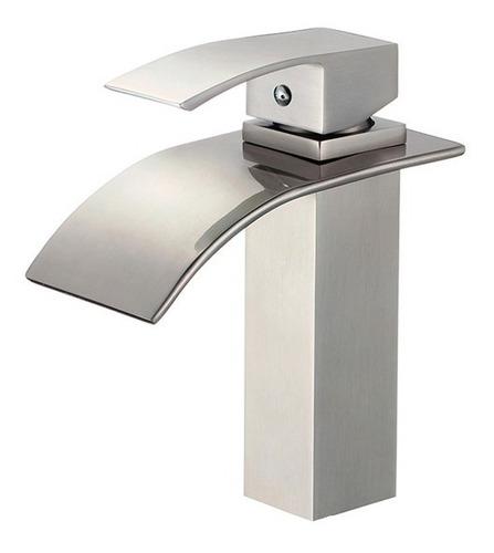 torneira para banheiro yukon baixa em aço escovado - axxor