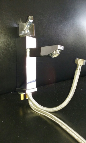 Torneira Para Pia De Banheiro Monocomando Lavatório  R$ 180,00 em Mercado Liv -> Torneira Plastica Para Pia De Banheiro
