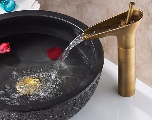 torneira/miturador monocomando bronze (4009)