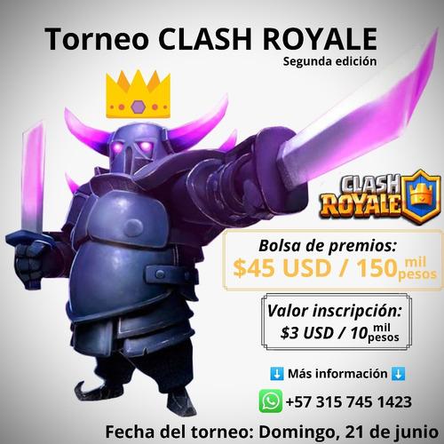 torneo clash royale ed. 2.