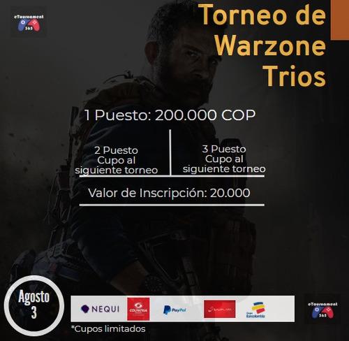 torneo de trios warzone