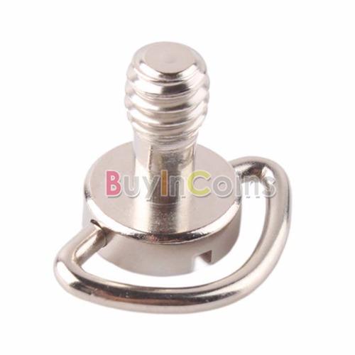 tornillo 1/4 chancla base tripie accesorio camara dslr