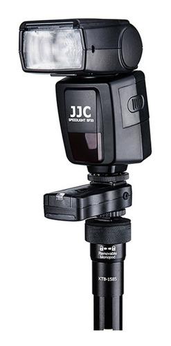 tornillo adaptador 1/4 a 3/8 cámara tripie y accesorios jjc
