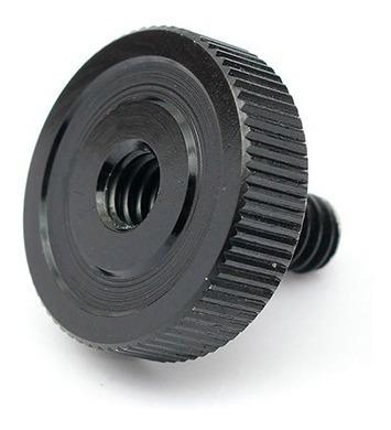 tornillo adaptador metálico 1/4 macho hembra bracket camara