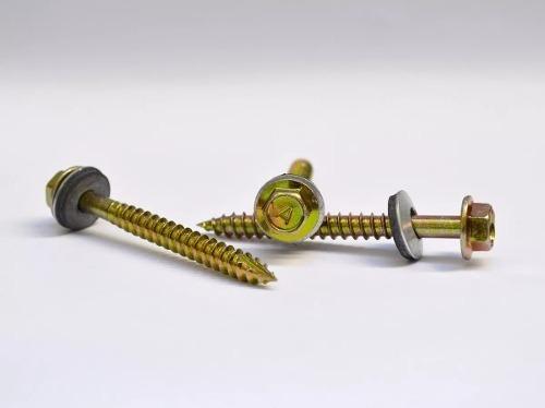 tornillo autop. p. aguja 14 x 2.1/2 chapa/madera - x 1000 u.
