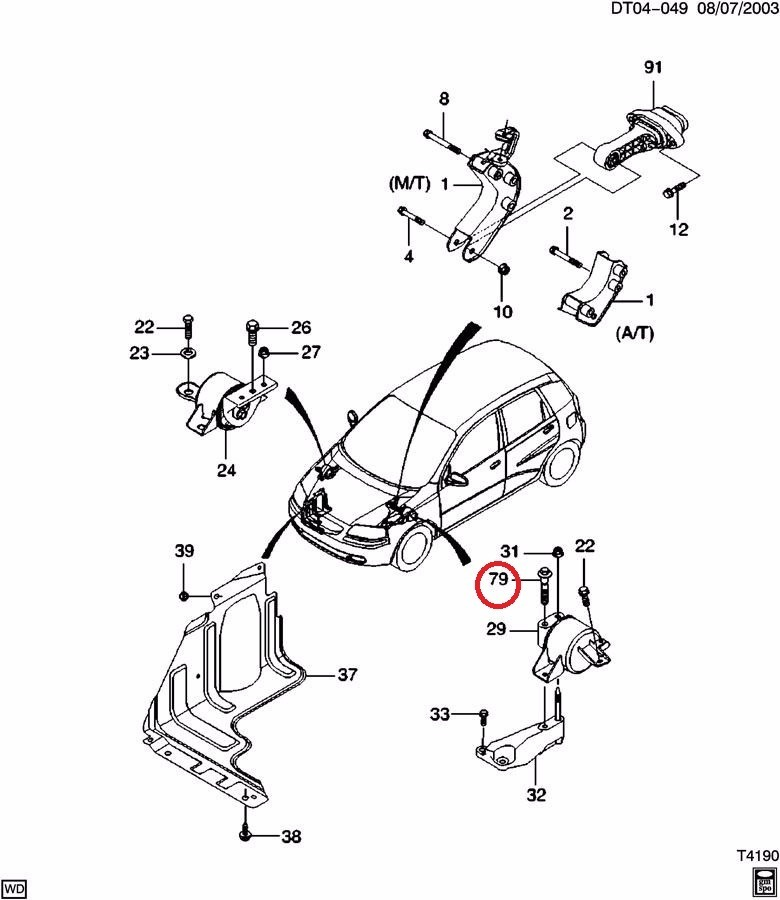 2004 Chevy Aveo Wiring Diagrams