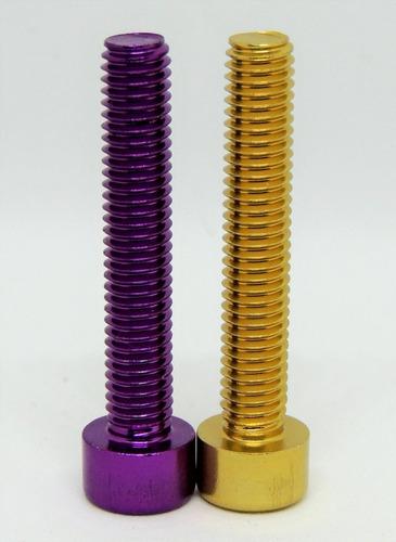 tornillo de aluminio m6x35