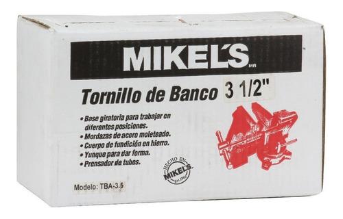 tornillo de banco de 3 1/2 mikels