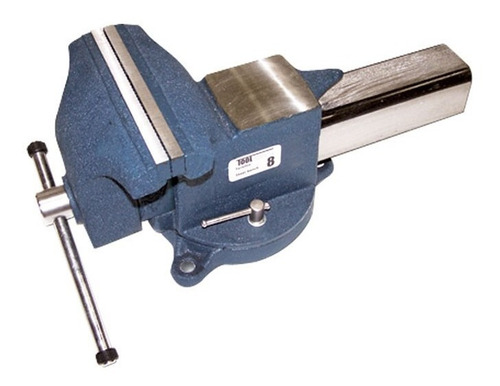 tornillo de banco ligero 4  toolcraft tc2540 prensa