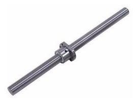 tornillo de bola recirculante 16mm 1500mm sfu1605 maquinado