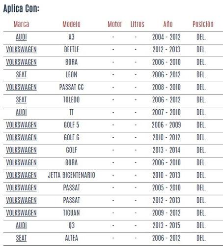 tornillo estabilizador del volkswagen bora 2006 - 2010 vzl