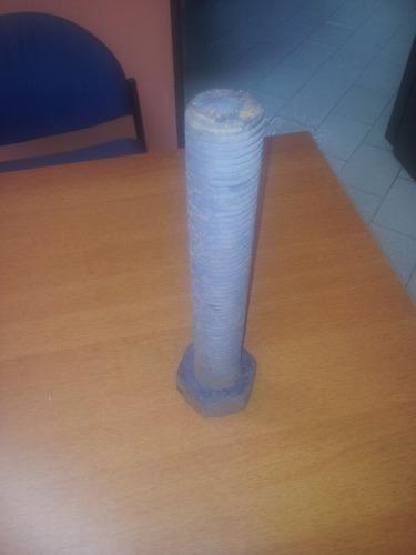 tornillo hexagonal diametro 48mm largo 300mm din 933