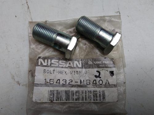 tornillo hueco turbocargador np300 original # 16432mb40a