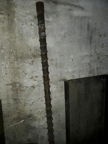tornillos de extrusora de varias medidas inyectora plastico