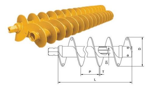 tornillos helicoidales-sinfin, barrenos para la industria