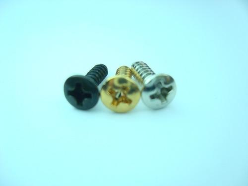 tornillos para pickguard de guitarra eléctrica (4 unidades)