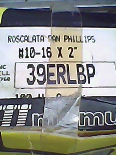tornillos  philips # 10-16 x 2